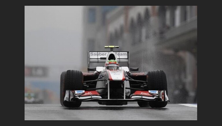 Перес сотворил сенсацию на Гран-при Малайзии