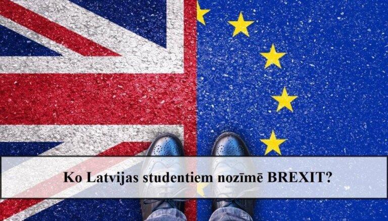 Ko Latvijas studentiem nozīmē 'Brexit'