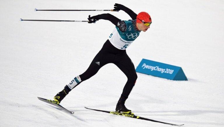 XXIII Ziemas olimpisko spēļu rezultāti Ziemeļu divcīņā NH/10km (14.02.2018.)