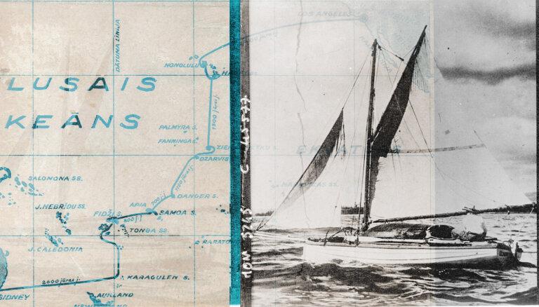 Pašnāvības vietā ceļojums – kā latvietis mazā laiviņā vienatnē šķērsoja Kluso okeānu