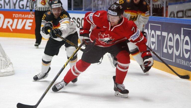 Izlases ģenerālmenedžeris: Kanādas hokejisti pasaules čempionātā nespēlē prēmiju dēļ