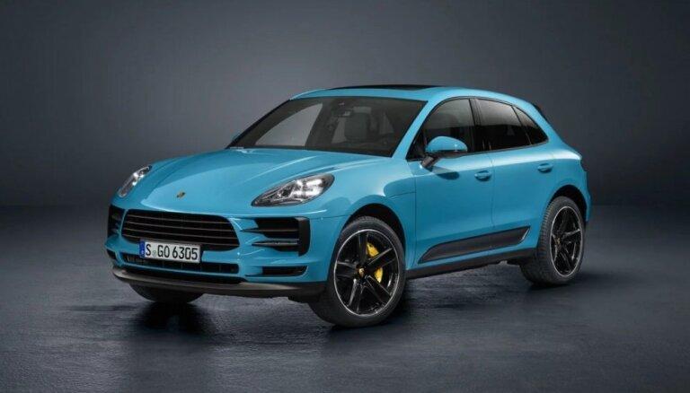 'Porsche' modernizējis 'Macan' apvidnieku