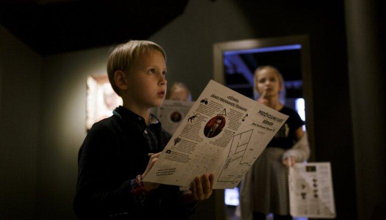 Aicina bērnus kopā ar rakstnieci Luīzi Pastori iepazīt mākslinieku Jāni Ferdinandu Tīdemani