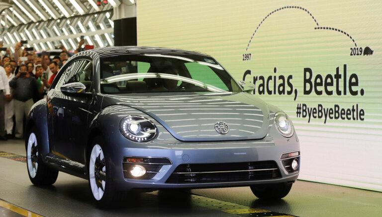 'Volkswagen' beidzis 'vabolīšu' ražošanu