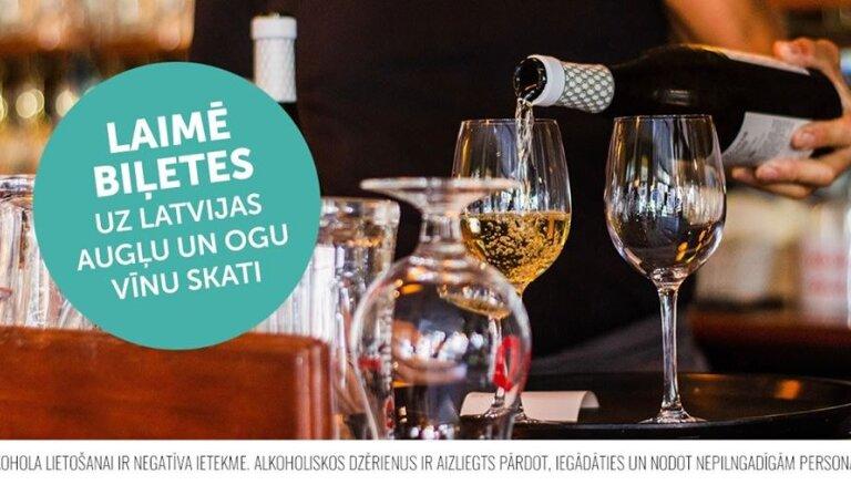 Konkurss: Iespēja nobaudīt 100 Latvijas labākos vīnus un sidrus