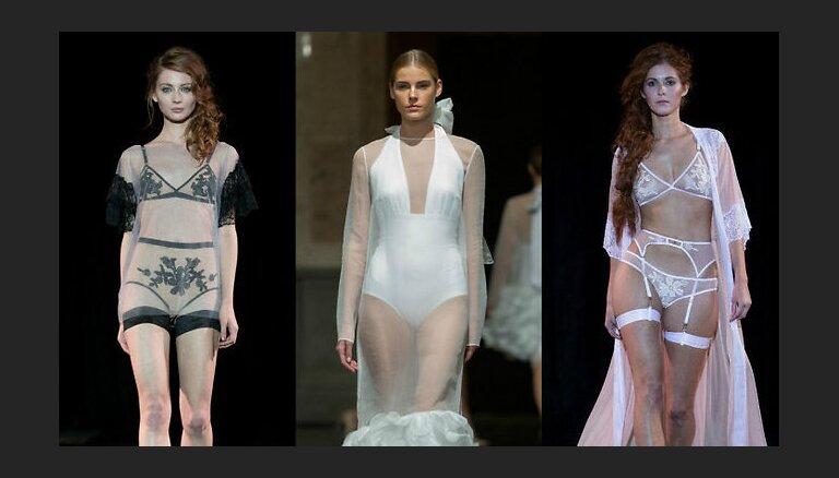RFW День 1: Пикантное белье, деним и кружево и изысканная идеальность M-Couture