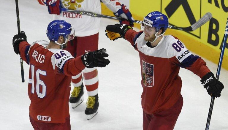 Сборная России проиграла в Копенгагене чехам и осталась без рекорда