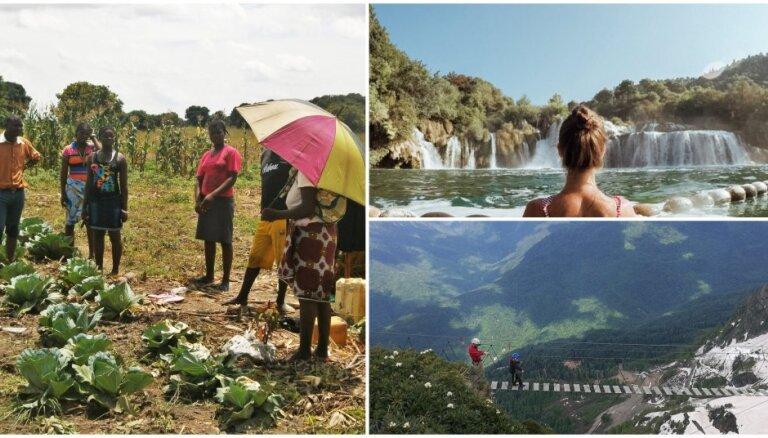 Horvātijas pludmales un Zambijas province: ceļojuma stāsti, kas uzrunājuši lasītājus