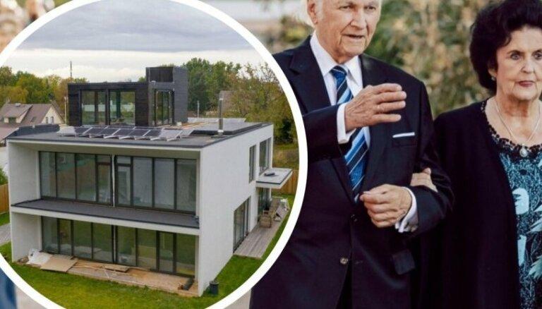 ФОТО. Лифт и отдельное здание для трофеев: как выглядит роскошный дом бывшего президента Эстонии