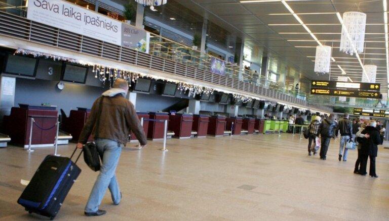 В Рижском аэропорту установят дополнительные регистрационные стойки