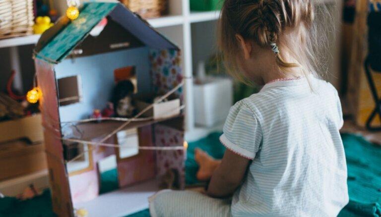 Bērnu sapņa piepildījums – iedvesma miniatūrām spēļu mājām