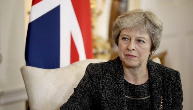 Mejai nepieciešams papildus laiks 'Brexit' sarunām