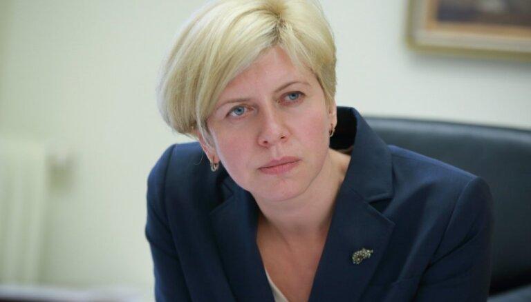Министр здравоохранения Анда Чакша вступила в Латвийскую Зеленую партию