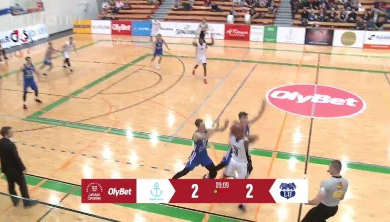 OlyBet Basketbola līga: Parnu Sadam - LU