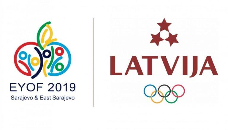 14. Eiropas Jaunatnes ziemas Olimpiādē Latviju pārstāvēs 19 sportisti