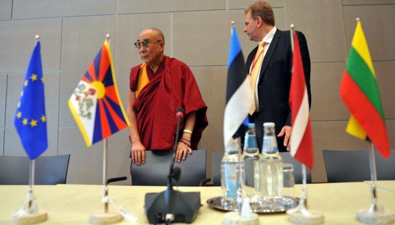 Китай отказал эстонцам в визах за прием Далай-ламы