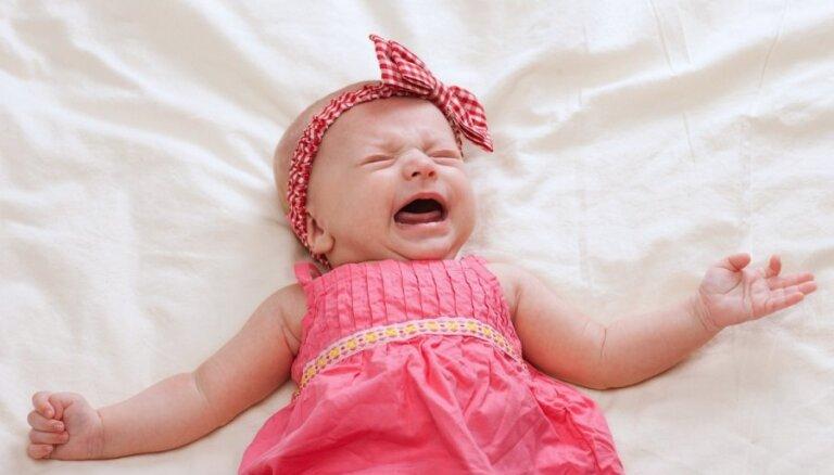 Septiņi galvenie iemesli, kāpēc tavs zīdainītis var raudāt