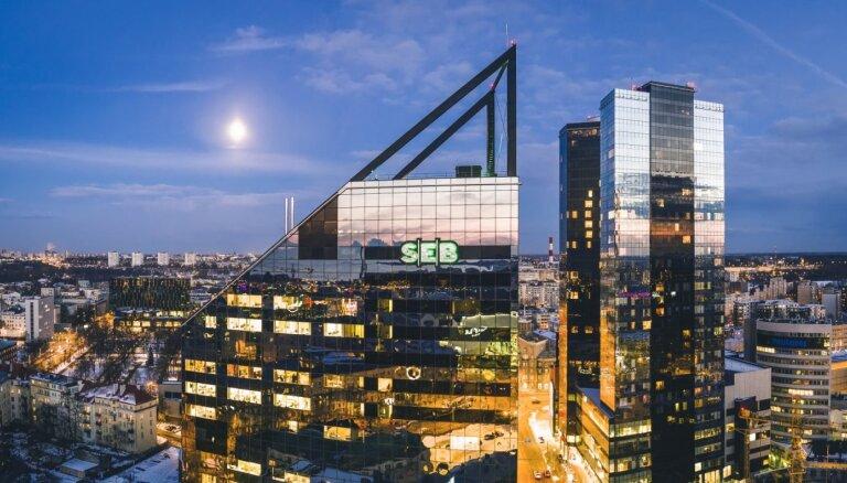 Pārdots 'SEB' galvenais birojs Igaunijā