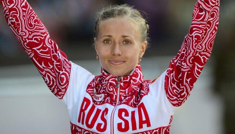 Krievijas soļotājai atņem 2012. gada olimpisko sudrabu