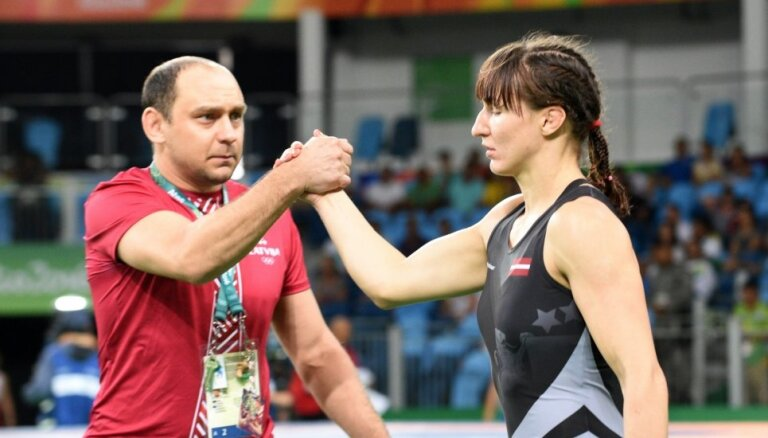 Cīkstone Grigorjeva: negrasos atkāpties, kamēr neiegūšu olimpisko medaļu