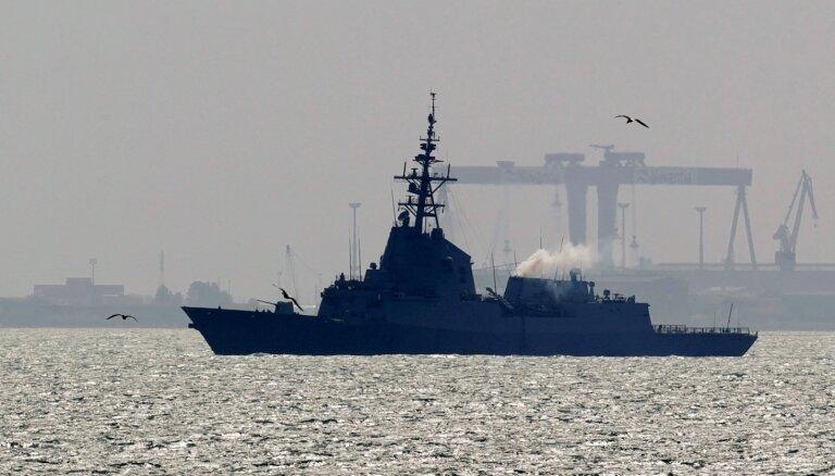 Spānija atsauc karakuģi no ASV trieciengrupas uz Tuvajiem Austrumiem