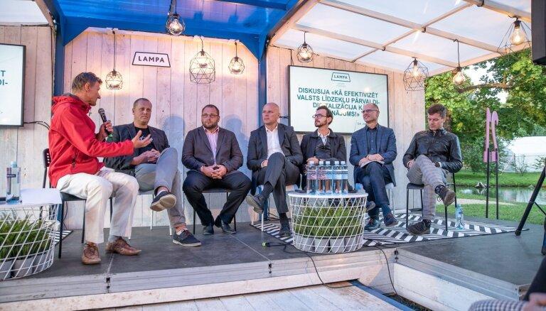 Diskusija 'Lampā': kā efektivizēt valsts līdzekļu pārvaldi