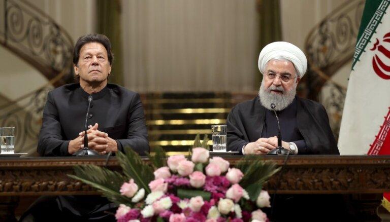 Irāna un Pakistāna veidos kopīgus pierobežas 'reaģēšanas spēkus'