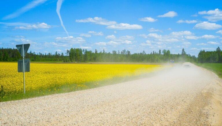 Trešdien būs saulains laiks; gaidāms intensīvāks ultravioletais starojums