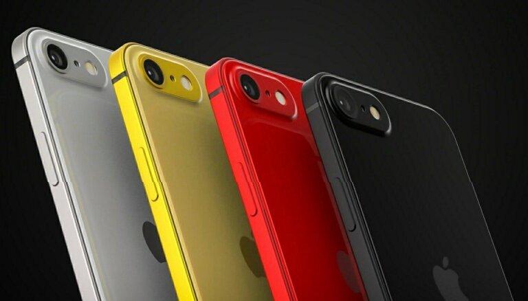 В четырех цветах: появились изображения iPhone SE2