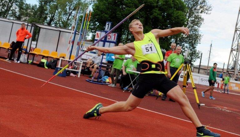 Eiropas čempions šķēpmešanā Sirmais kļūst arī par Latvijas čempionu