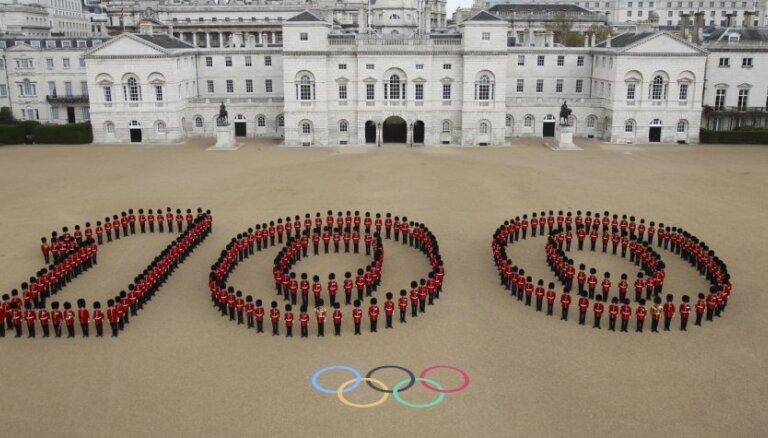 100 dienas pirms Londonas Olimpiādes vietu Latvijas komandā nodrošinājuši 22 sportisti