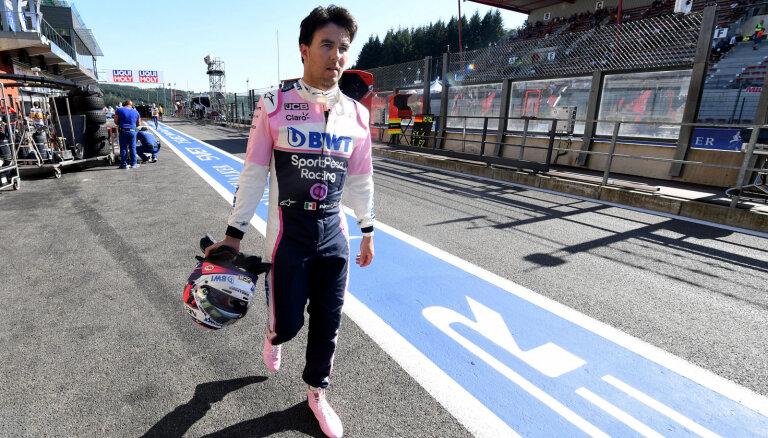 Peress pametīs F-1 komandu 'Racing Point'