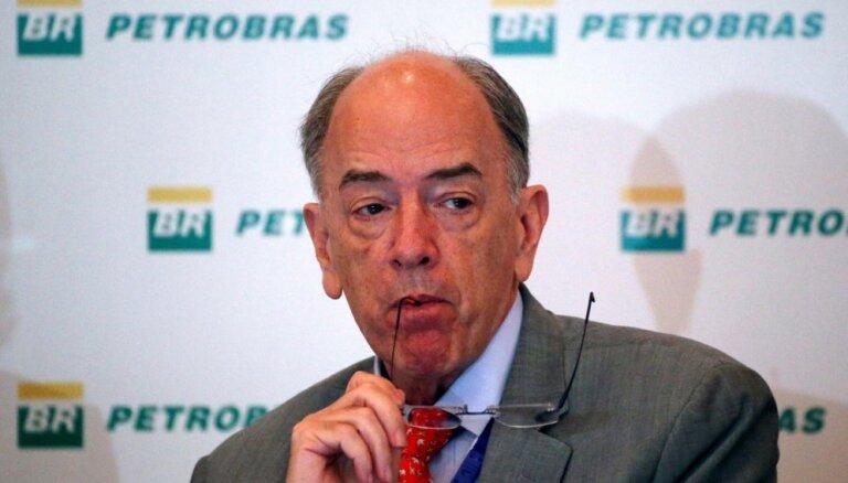 Kravas mašīnu šoferu streiks: atkāpjas Brazīlijas naftas kompānijas giganta 'Petrobras' vadītājs