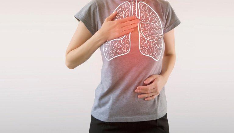Seši vienkārši ieteikumi plaušu veselības stiprināšanai