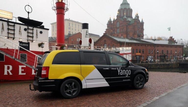 'Yandex.Taxi' sācis darbību Somijas tirgū ar jaunu zīmolu 'Yango'