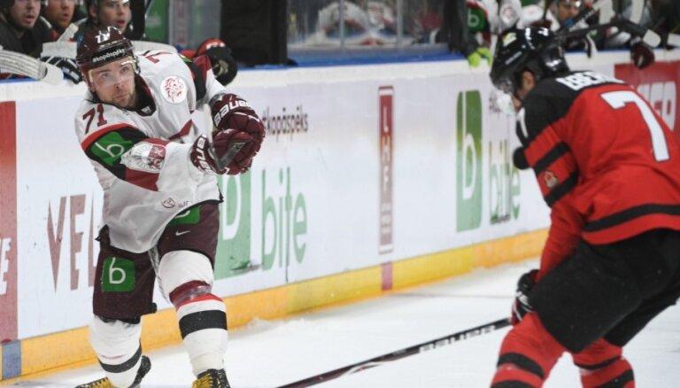Četru Latvijas hokejistu pārstāvēto klubu duelī Čehijā uzvar Bukarta un Galviņa komanda
