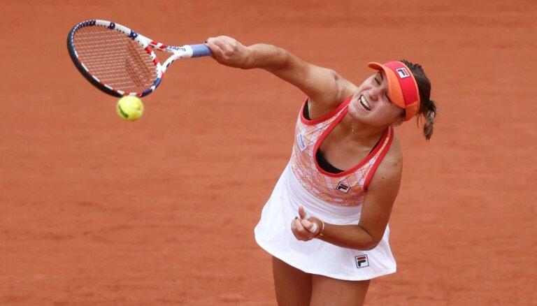 'French Open' trešā diena: otro kārtu sasniedz ar ceturto numuru izsētā Kenina