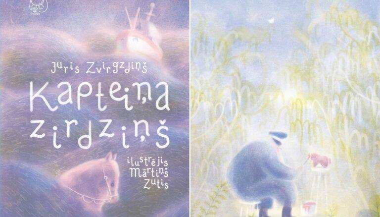 Izdota Jura Zvirgzdiņa grāmata bērniem 'Kapteiņa zirdziņš'