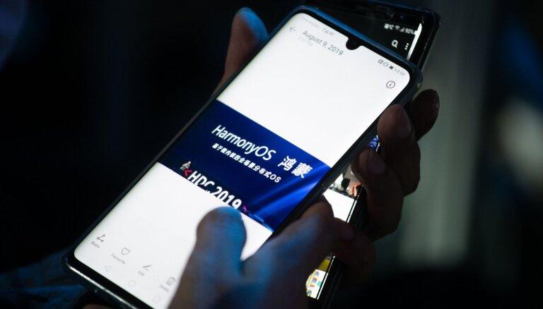 'Huawei' izstrādājis savu operētājsistēmu 'HarmonyOS'
