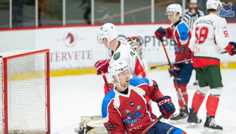 'Zemgale' ar uzvaru pār HK 'Liepāja' izvirzās vadībā OHL čempionātā