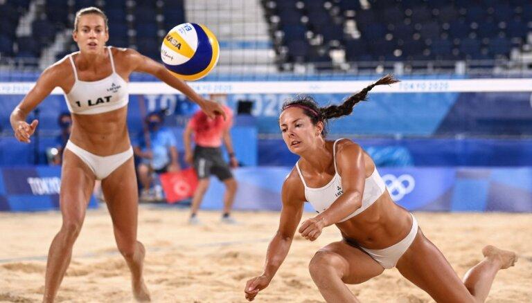 Что смотреть на Олимпиаде 5 августа: главные надежды Латвии — пляжный волейбол и карате