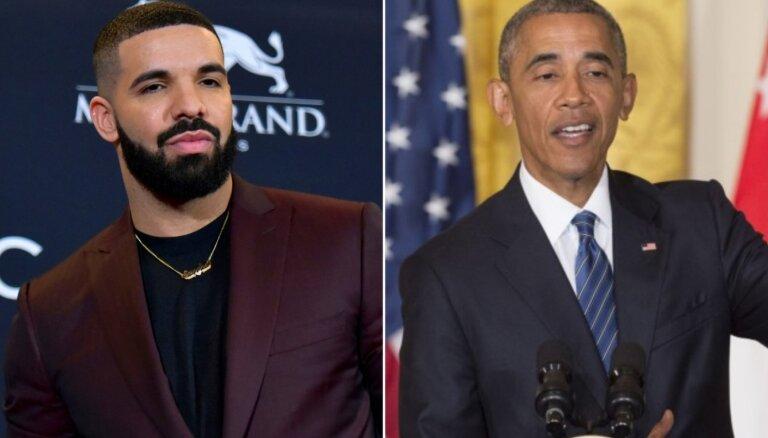 Baraks Obama akceptējis repera Dreika vēlmi iejusties viņa ādā
