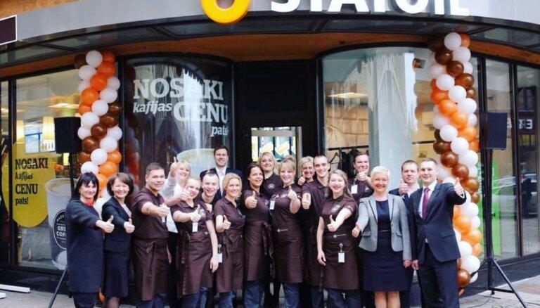 ФОТО: В Риге открылся первый магазин Statoil без автозаправки