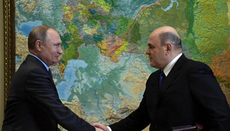 Путин официально назначил Мишустина премьером
