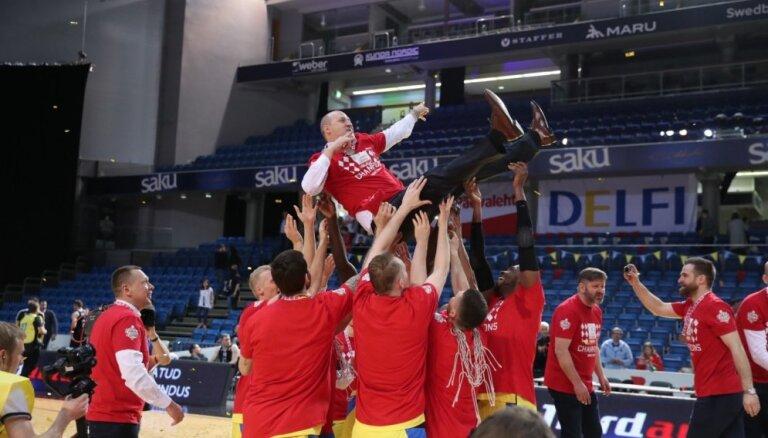 Štelmahers pēc triumfa 'OlyBet' basketbola līgā: man visa komanda ir MVP