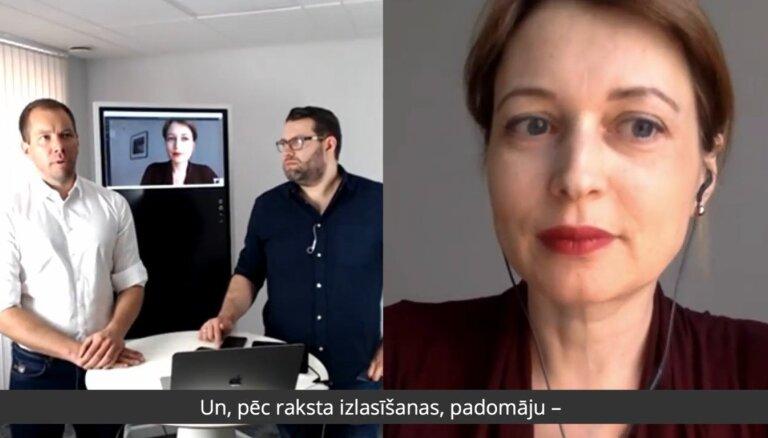 Inga Spriņģe par populisma vilni un algoritmu ietekmi uz saturu