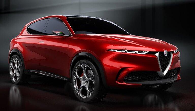 'Alfa Romeo' klāstā sola hibrīda un elektriskos auto