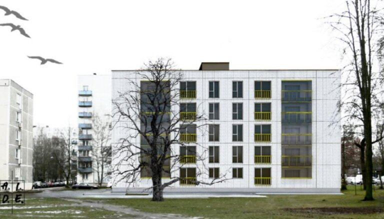 Rīkos publisko apspriedi par dzīvokļu ēkas būvniecību Anniņmuižas bulvārī