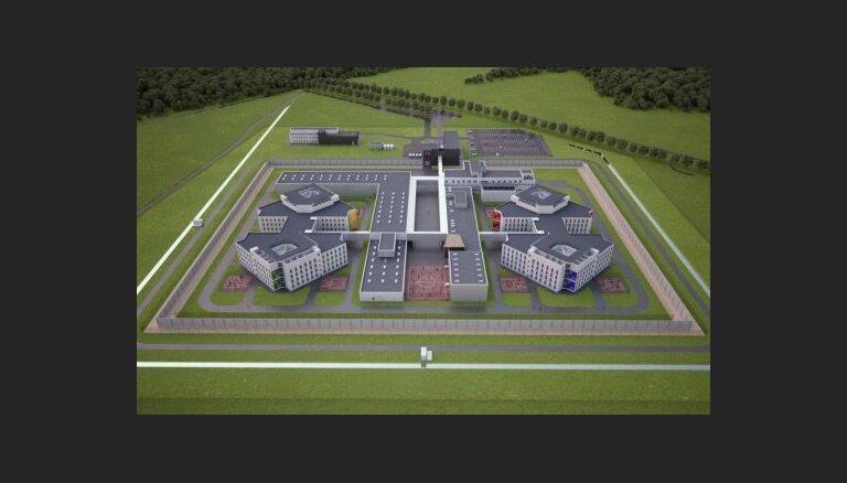 Объявлен повторный конкурс на строительство Лиепайской тюрьмы