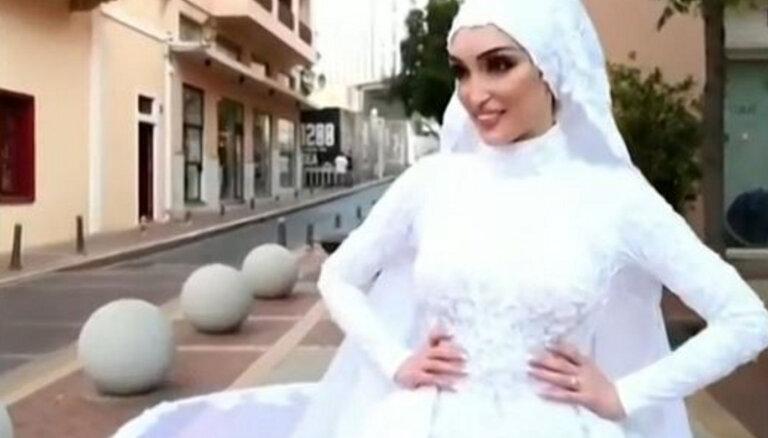 ВИДЕО: Взрыв в Бейруте попал на камеру свадебного видеооператора